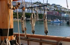 Brixham through rigging half-day sail