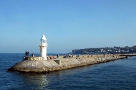 Devon Taster Cruise Brixham Breakwater lighthouse
