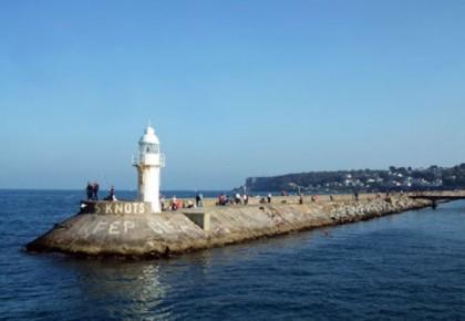 Devon Taster Cruise Brixham Breakwater lighthouse