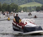 Dartmouth Regatta Deck shoe sailing past!