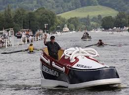 Dartmouth Regatta Deck shoe sailing past!