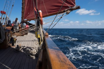 Sail Bed and Breakfast Classic Sailing off Berryhead Devon