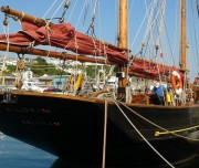 Ready to leave from the pontoon