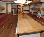 Pilgrim of Brixham classic comfort and spacious below decks