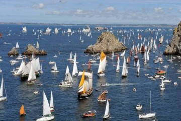 Brest Festival International Classic Sailing Vessels Parade