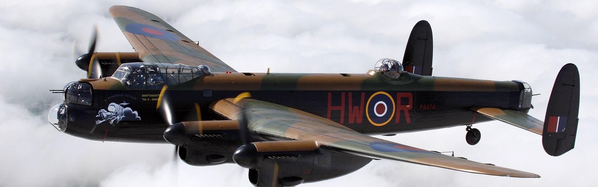 The amazing Lancaster Bomber