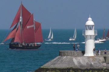 Pilgrim sailing in Torbay