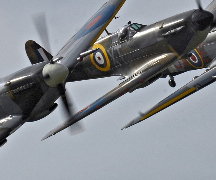 Spitfires Torbay Airshow
