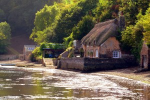 Cottage on the River Dart at Dittisham