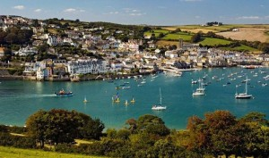 Salcombe in Devon