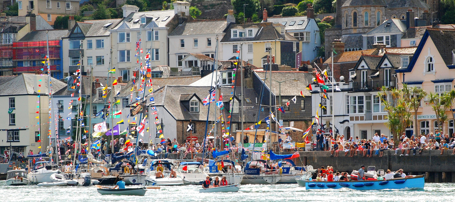Devon Short Break Dartmouth Crab Festival Weekend-2nts -5th Aug