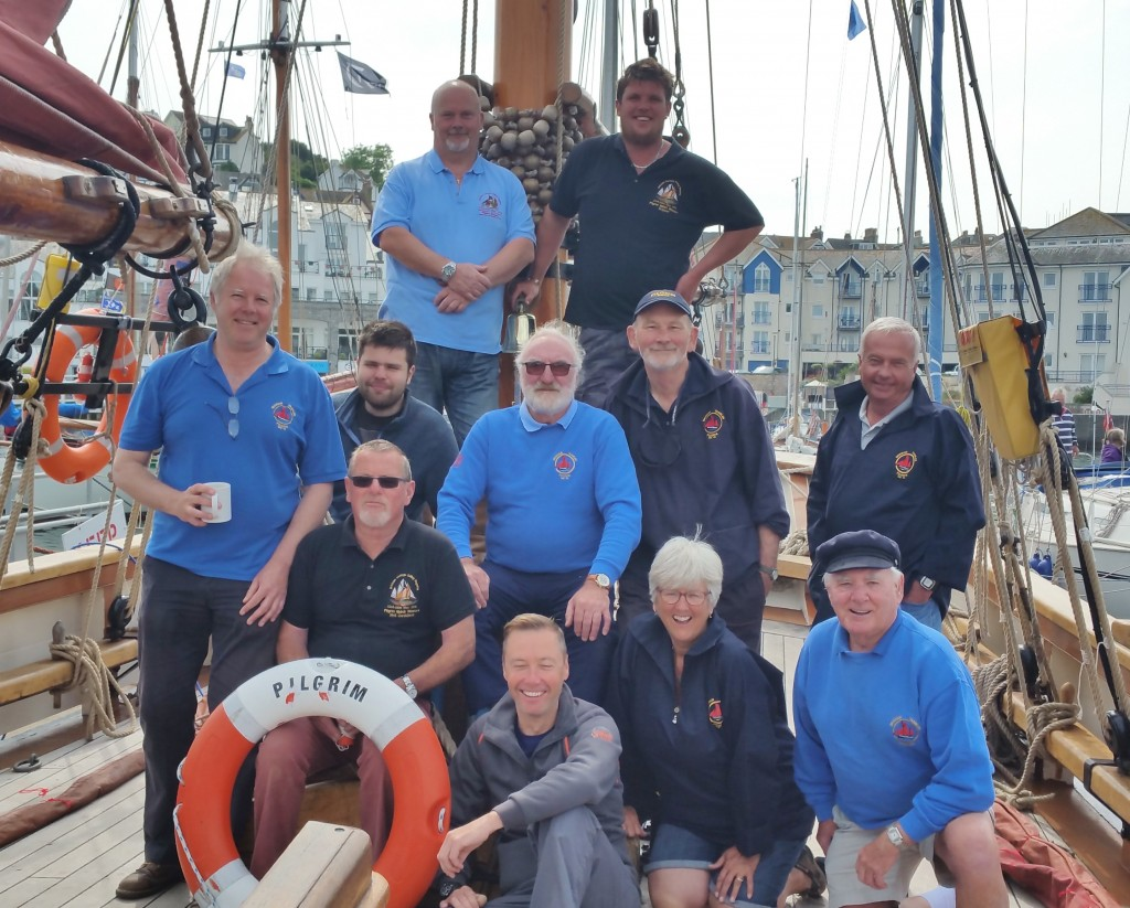Pilgrim Open Days, Brixham Harbour, Crew, Free