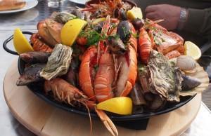 Seafood Platter Devon