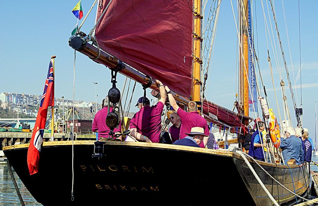 Pilgrim Open Days, Brixham harbour, Free