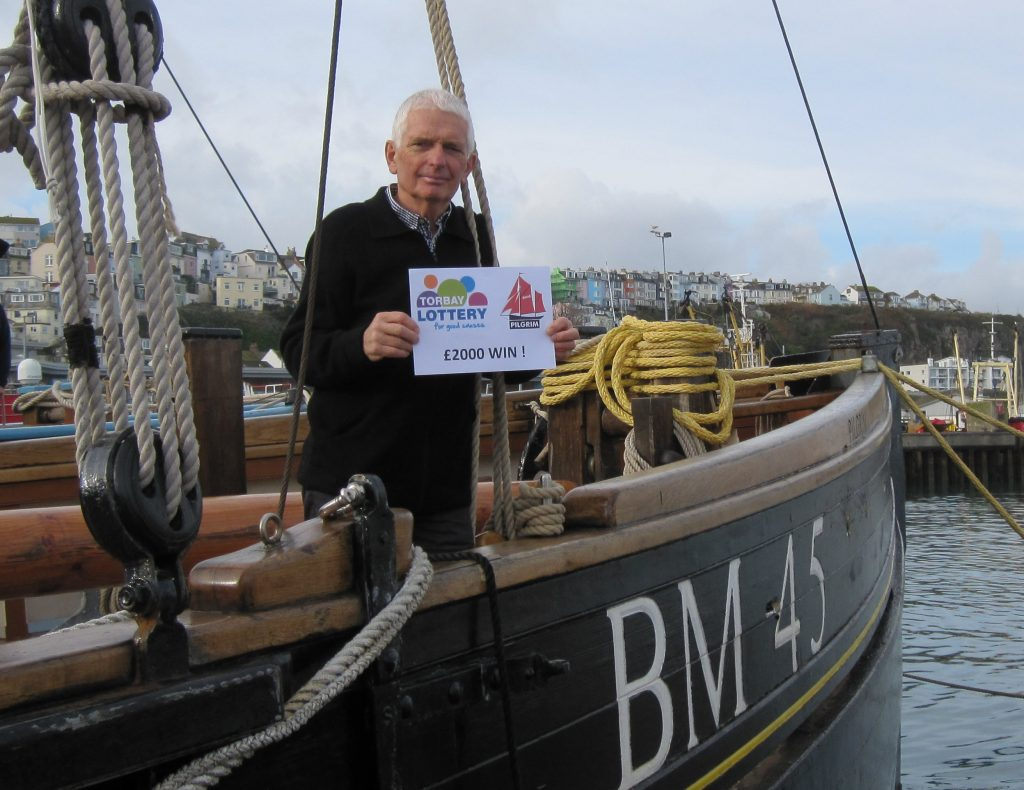 Pilgrim Volunteer has big Torbay lottery win