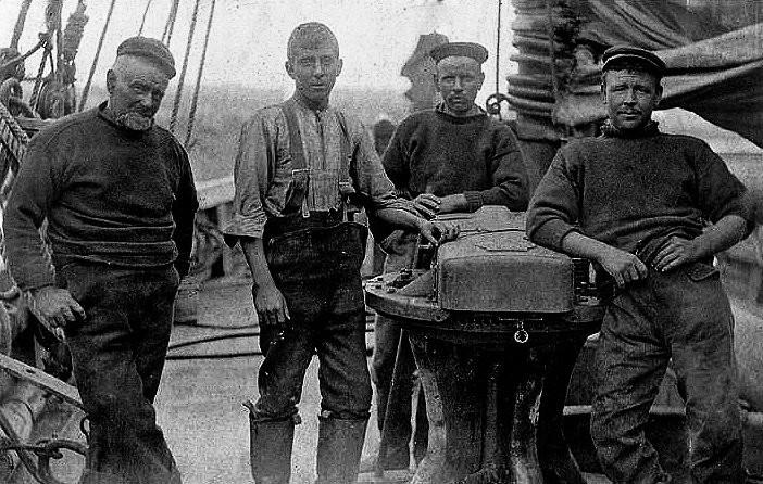 Sailing Trawler Crew