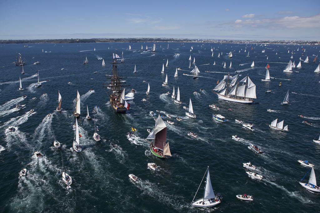 Brest Maritime Festival vessels